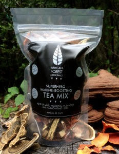 Colour label- tea mix-in situ